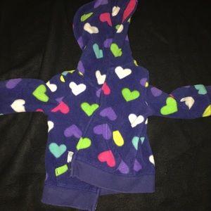 Other - Toddler girls fleece jacket